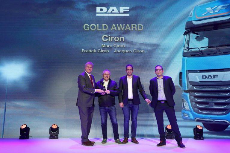 Le Groupe Ciron DAF récompensé aux DAF Awards