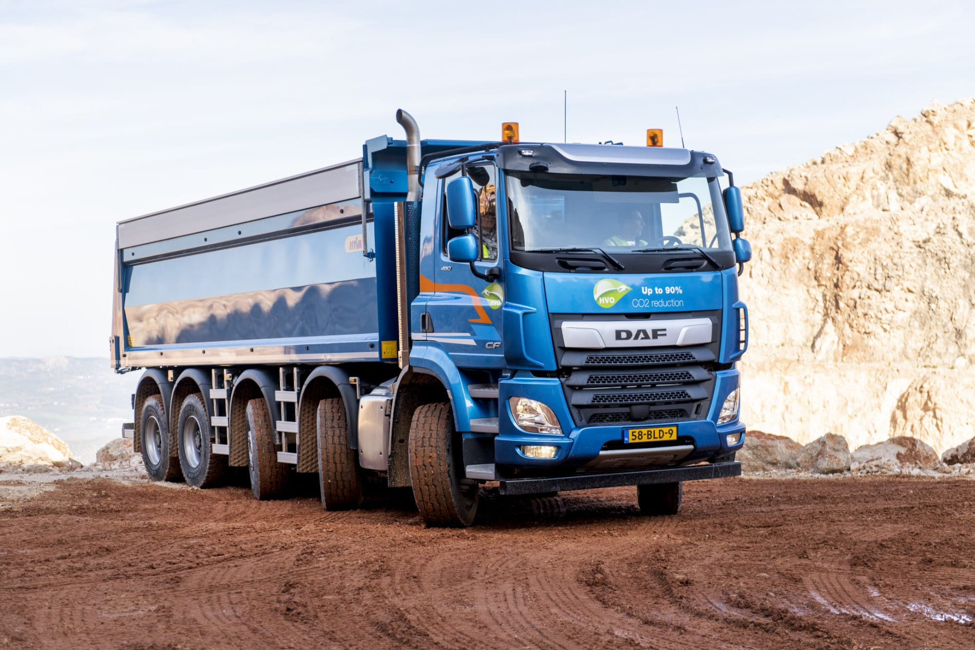 DAF CF et LF Euro 6 Construction